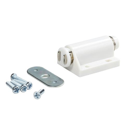 50 Pack Magnetic Door Touch Push Latch Catch White