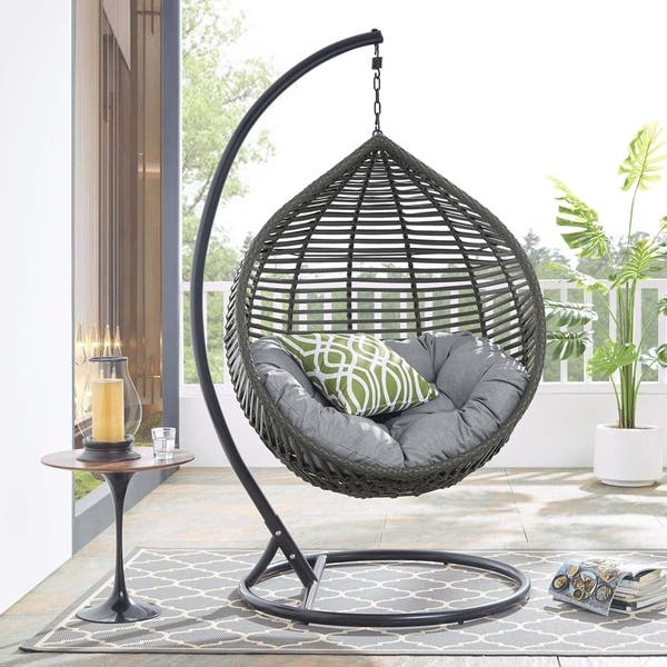 Prime Shop Garner Teardrop Outdoor Patio Swing Chair Free Ocoug Best Dining Table And Chair Ideas Images Ocougorg