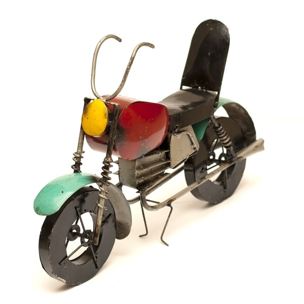 Multicolored Motorcycle Small - N/A
