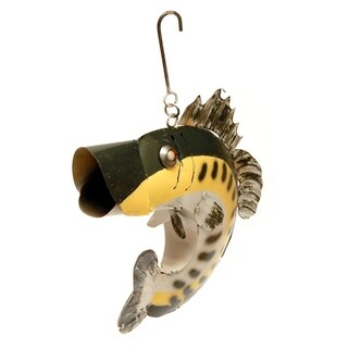 Yellow Bass Hanging Birdhouse
