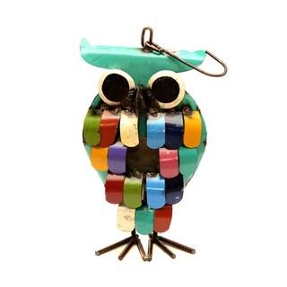 Owl Hanging Birdhouse - N/A