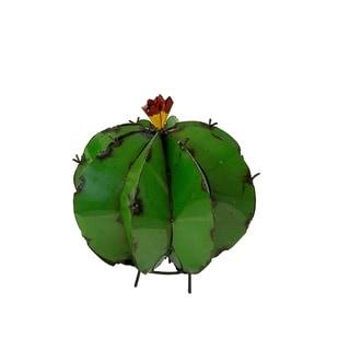 Barrel Cactus Garden Art, Multicolor - N/A