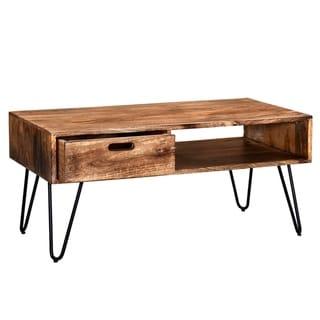 Jaydo-Coffee Table-Natural Burnt