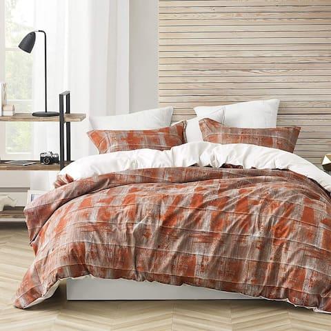Brucht Designer Supersoft Oversized Duvet Cover - Unearthed - Copper/Brown