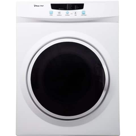 Magic Chef 3.5-Cu. Ft. Compact Electric Dryer in White
