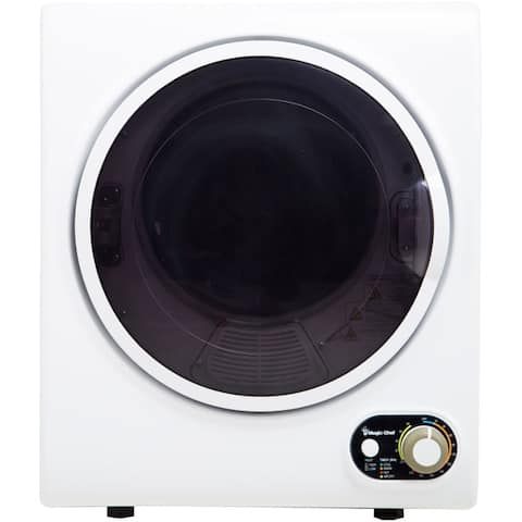 Magic Chef 1.5-Cu. Ft. Compact Electric Dryer in White
