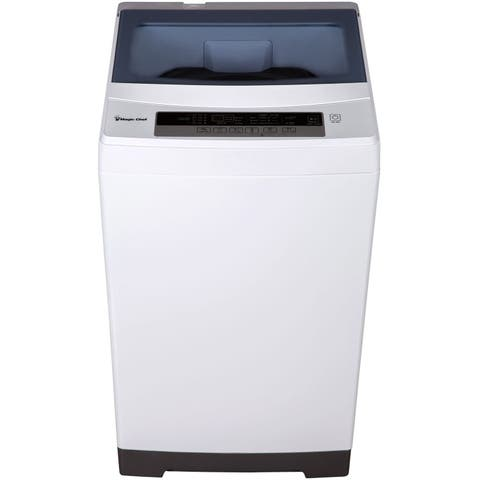 Magic Chef 1.6-Cu. Ft. Compact Top-Load Washer in White