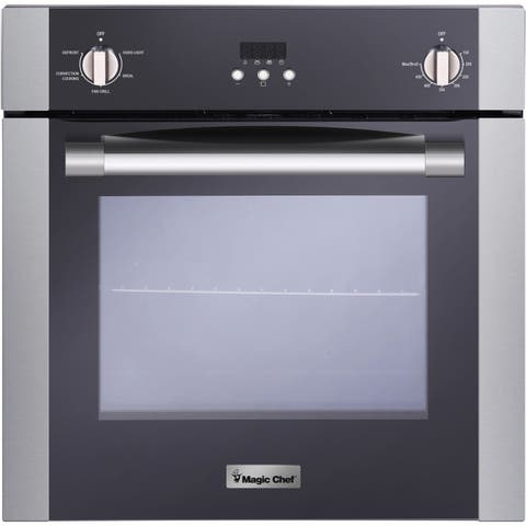 Magic Chef 24-In. Electric Wall Oven with Convection