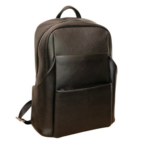 Amerileather Teslo Leather Backpack (1540-0)