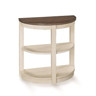 Solid Wood Bookshelf Demi End Table - 24 inches x 14 inches x 24 inches