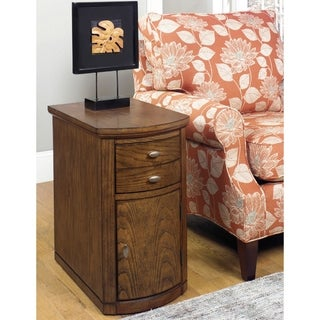 Solid Wood Chairside Cabinet