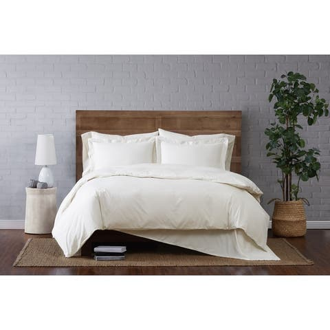 Porch & Den Westwind Cotton Percale Duvet Set