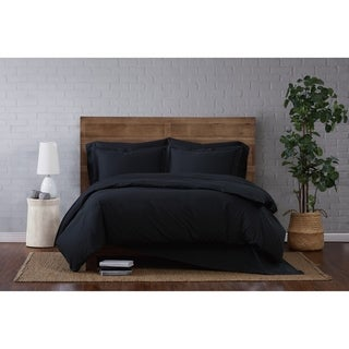 Link to Porch & Den Westwind Cotton Percale Duvet Set Similar Items in Duvet Covers & Sets