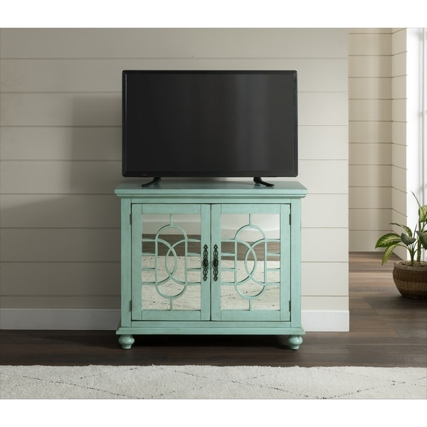 Silver Orchid O'Neil 38-inch Accent Cabinet TV Stand