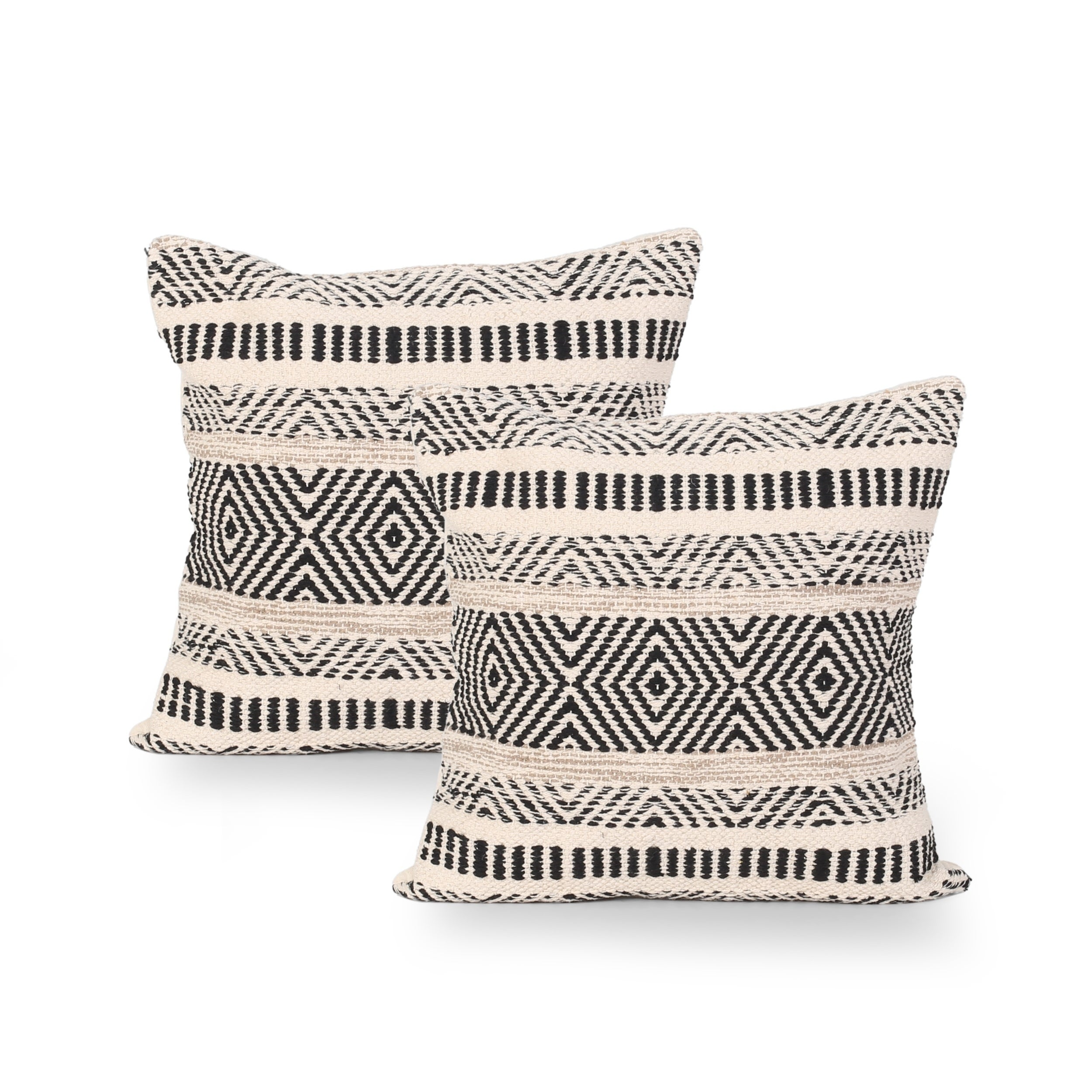 Artesian Boho Cotton Throw Pillow Set Of 2 By Christopher Knight Home Overstock 28738762