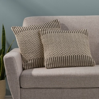 Ardmore Boho Cotton Throw Pillow (Set of 2) by Christopher Knight Home