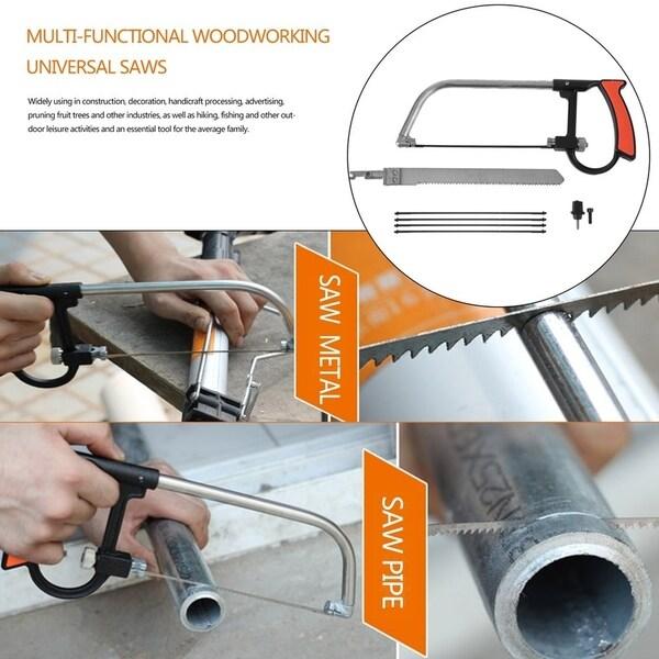 8 In 1 Magic Saw Multi-Functional Hand Saw Universal Mini Hacksaw DIY Cutting
