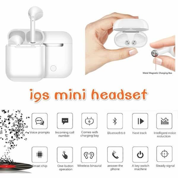 Shop Tws Wireless Bluetooth 5 0 Earphone Binaural Call Hifi 3d Stereo Sound Wireless Headphones With Charging Box Overstock 28739071