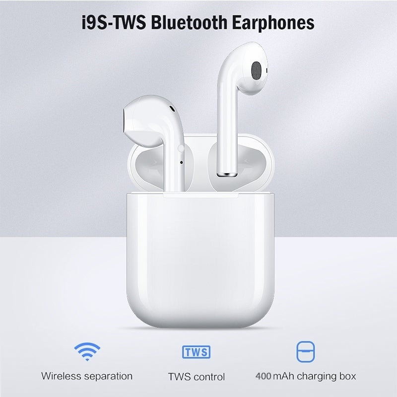Shop Tws Wireless Bluetooth 5 0 Earphone Binaural Call Hifi 3d Stereo Sound Wireless Headphones With Charging Box Overstock 28739071
