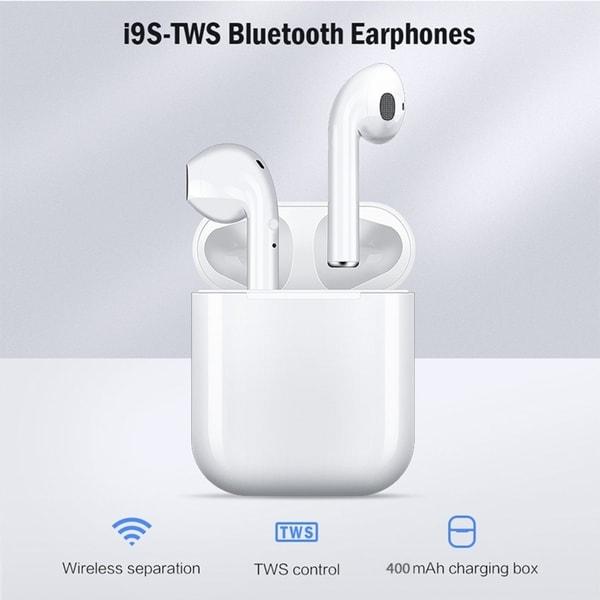 TWS Wireless 5.0 Earphone Binaural Call HiFi 3D Stereo Sound Wireless Headphones with Charging Box. Opens flyout.