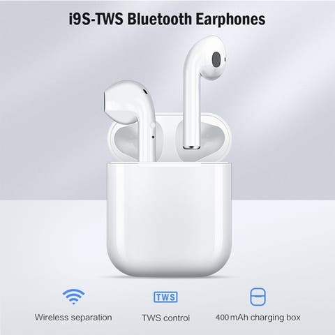 TWS Wireless 5.0 Earphone Binaural Call HiFi 3D Stereo Sound Wireless Headphones with Charging Box