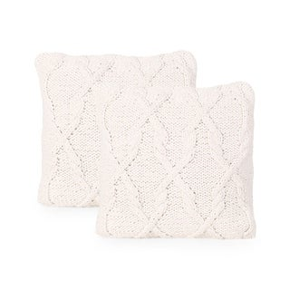 Hubert Modern Throw Pillow Cover