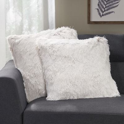 Frankfort Modern Throw Pillow Cover (Set of 2) by Christopher Knight Home