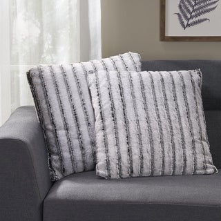 Gansevoort Modern Throw Pillow Cover (Set of 2) by Christopher Knight Home