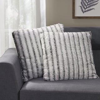 Gansevoort Modern Throw Pillow (Set of 2) by Christopher Knight Home