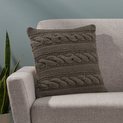 Berteau Boho Cotton Throw Pillow by Christopher Knight Home