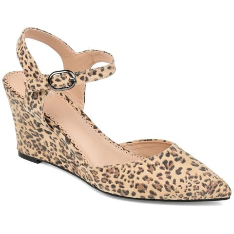 Journee Collection Womens Anndria Wedge