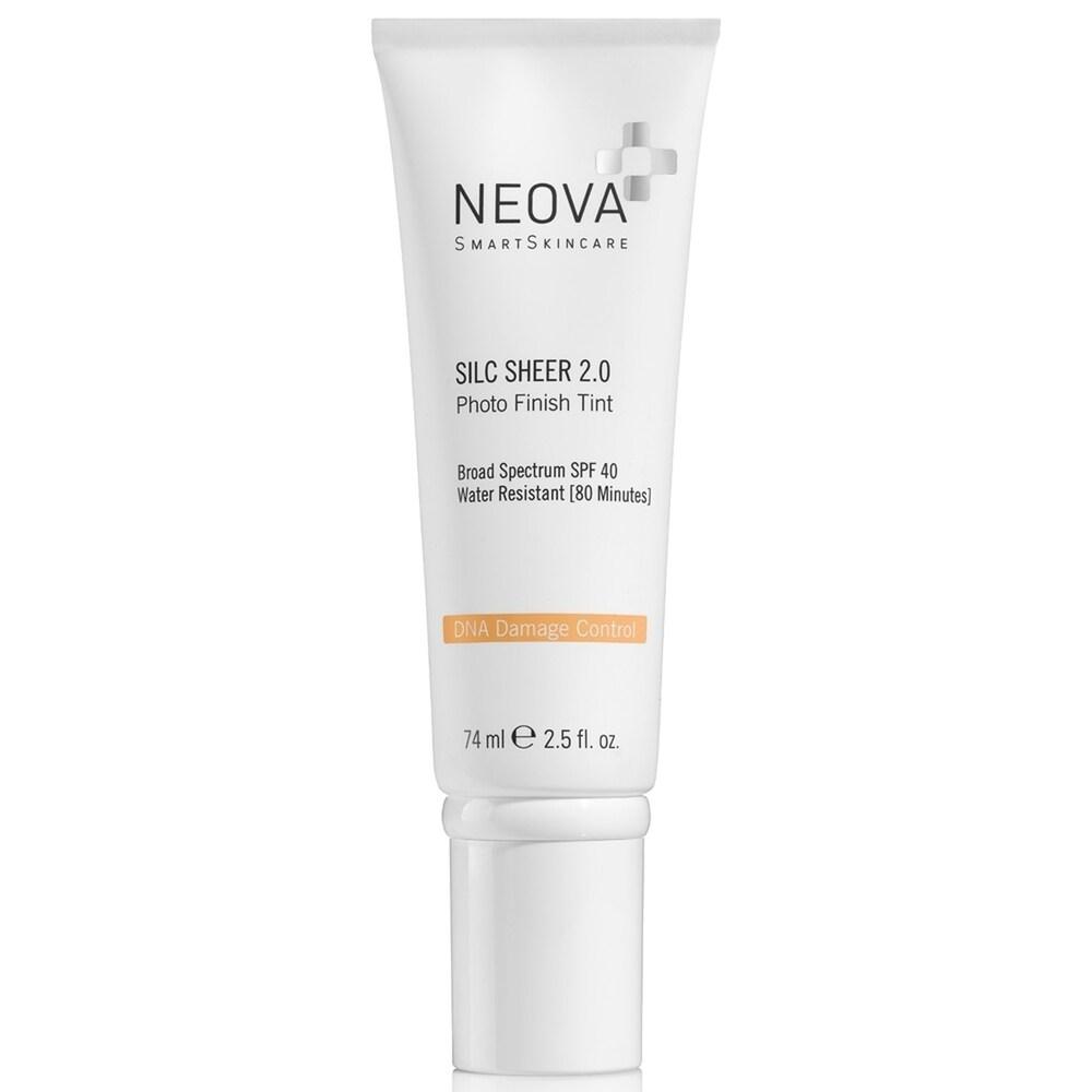 Neova Smart Skincare Silc Sheer 2.0 SPF 40 74 ml / 2.5 fl oz (Facial Sunscreen)