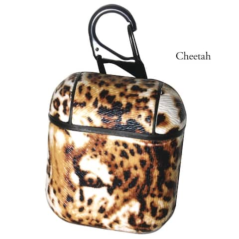 Olivia Pratt Exotic Animal Print Airpod Case