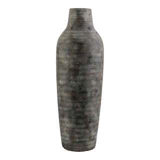 Aurelle Home Textured Antique-look Modern Vase