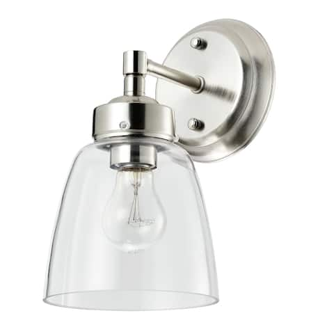 Helena 1-light Satin Nickel Bath Light