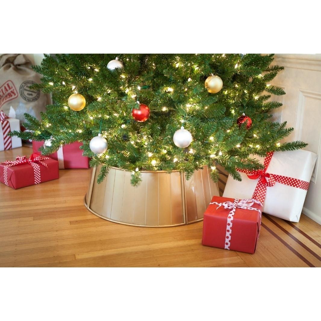 Metal Christmas Tree Collar N A Overstock 28741347