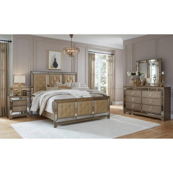 Furniture Usa Portofino Gold Mirror