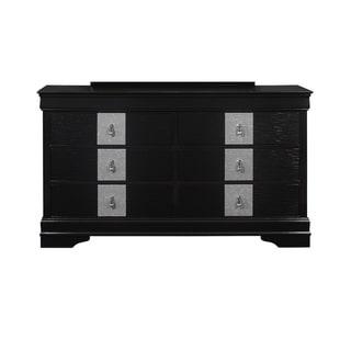 Global Furniture USA Mia Black Dresser