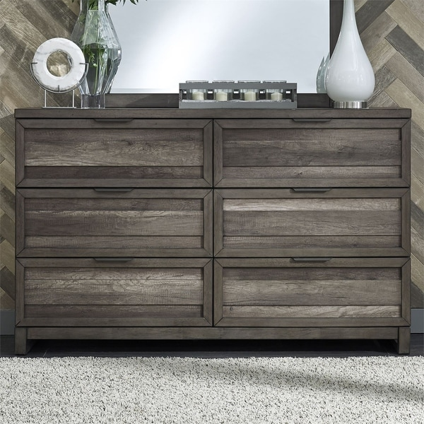Tanners Creek Greystone 6-drawer Dresser