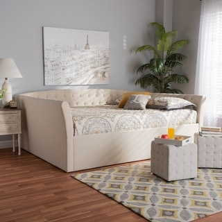 Delora Modern and Contemporary Upholstered Daybed