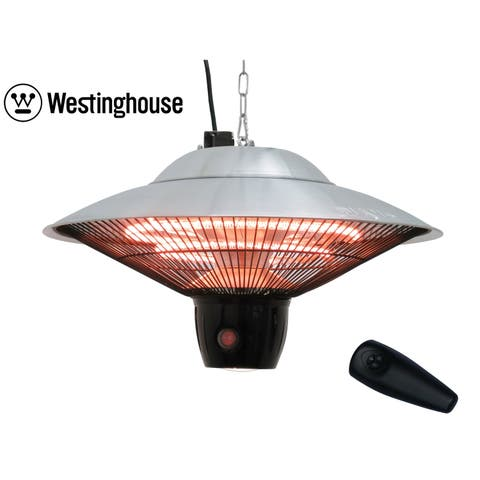 Westinghouse Infrared Heater With LED light - Hanging with Remote Control - N/A