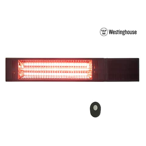 Westinghouse Infrared Heater With Gold Tube - Wall Mount with Remote Control - N/A