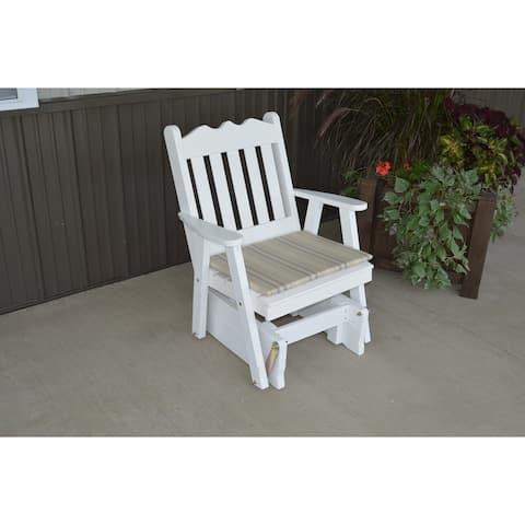 Pine Royal English Gliding Chair