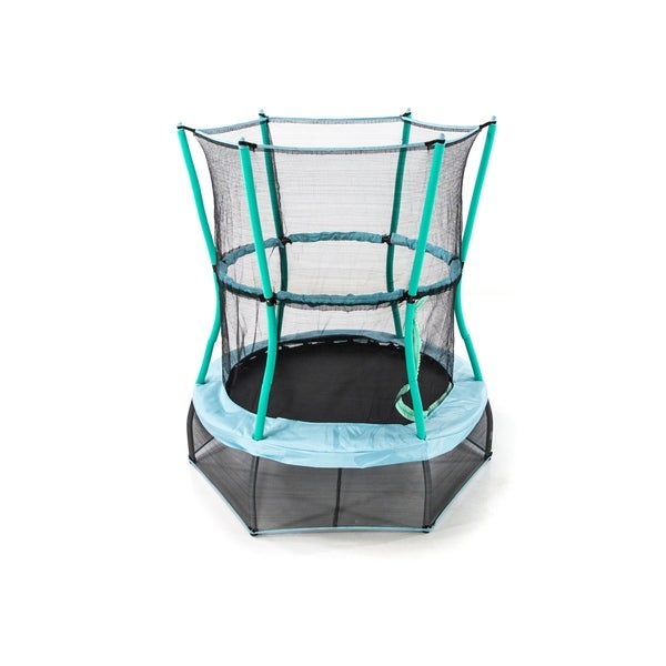 """Skywalker Trampolines 48"""" Round Classic Mini Bouncer with Enclosure. Opens flyout."""