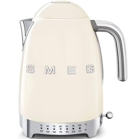 Smeg 50's Retro Style Aesthetic Variable Temperature Kettle Cream