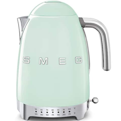 Smeg 50's Retro Style Aesthetic Variable Temperature Kettle Pastel Green - N/A