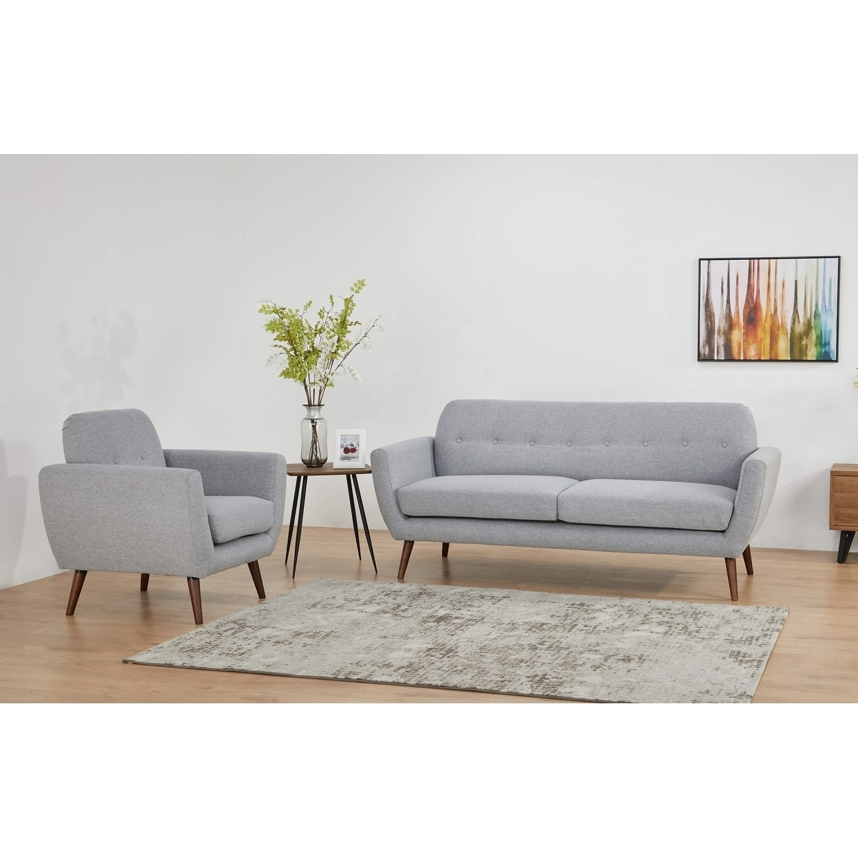 Artdeco Home Vegas sofa set (Sofa & Chair)