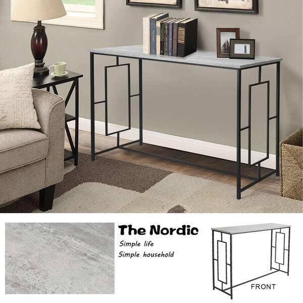 Shop Adeco Console Tables Desk, Square Designs for Living ...