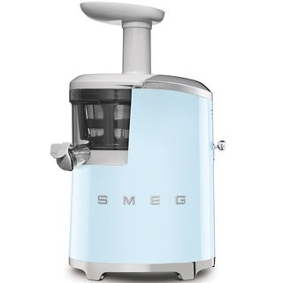 Smeg 50's Retro Style Aesthetic Slow Juicer Pastel Blue