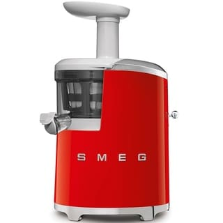 Smeg 50's Retro Style Aesthetic Slow Juicer Red